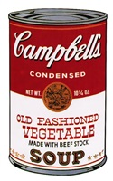 campbell's soup ii: old fashioned vegetable [ii.54] by andy warhol